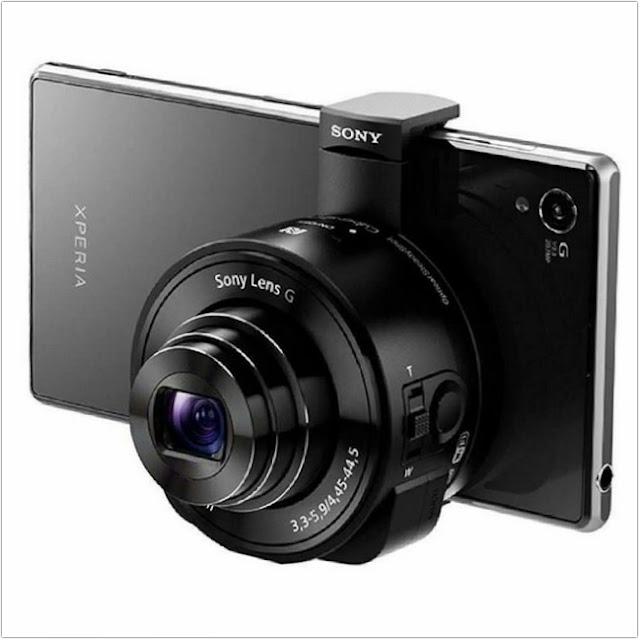Sony DSC QX 10;Sony Cyber Shot DSC QX 10, Sebuah Lensa Untuk Android