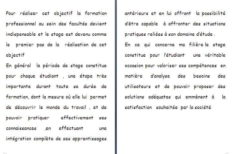 Page De Garde Rapport De Stage Ofppt Word