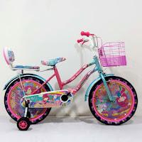Sepeda Mini Anak Michel XC265 Princess 18 Inci CTB Steel 5-8 Tahun Kids City Bike