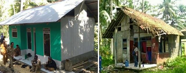 Pemdes Karangbenda Berhasil Sulap Rumah Warganya Yang Ambruk