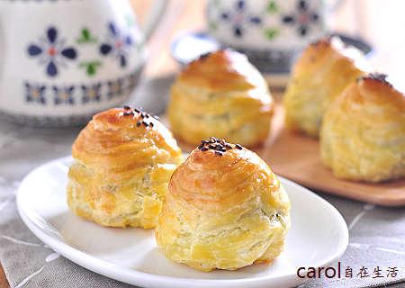 Carol 自在生活 : 簡易千層酥皮蛋黃酥。easy Yolk Pastry - 實作影片