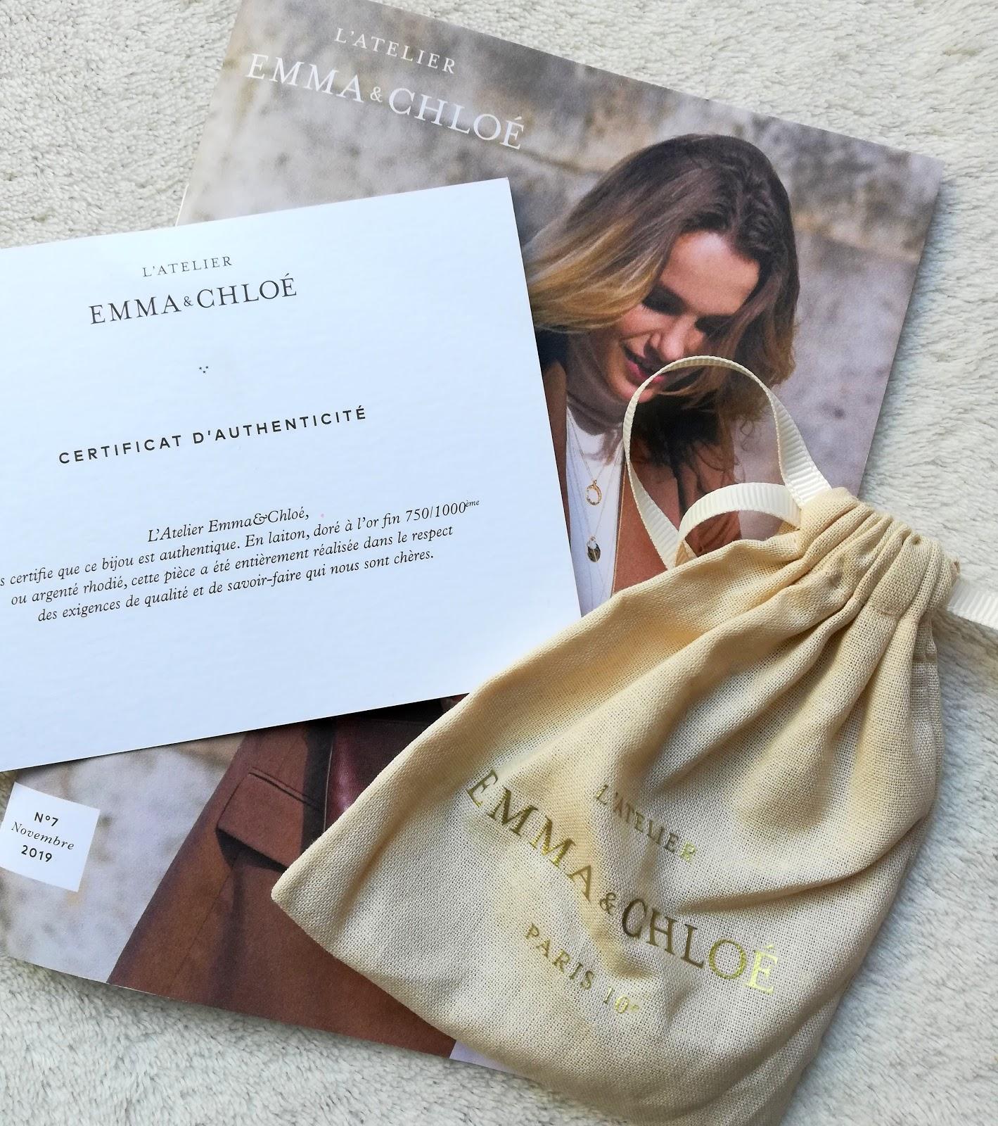 box de Novembre d'EMMA&CHLOÉ (code promo)