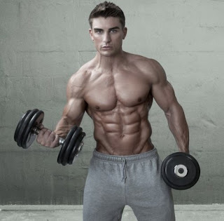 Ryan terry ripped abs
