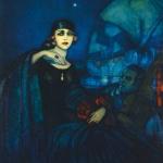 'Pola Negri i Rodolfo Valentino (Federico Beltrán Masses)'