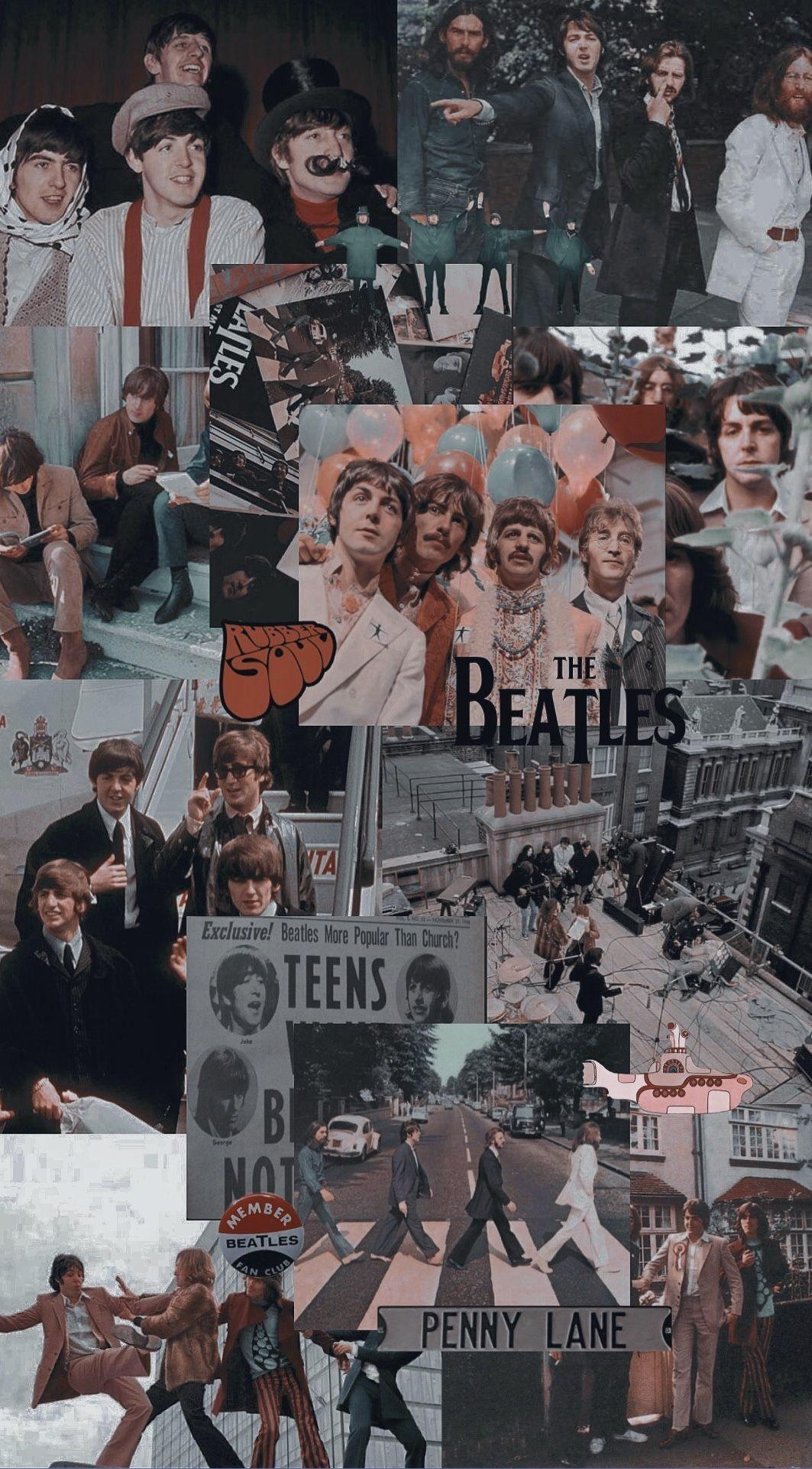 Download Wallpaper Wallpaper The Beatles HD