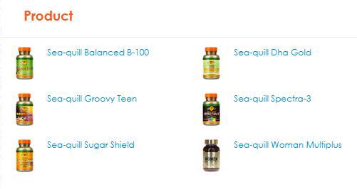 produk suplemen makanan kesehatan sea-quill