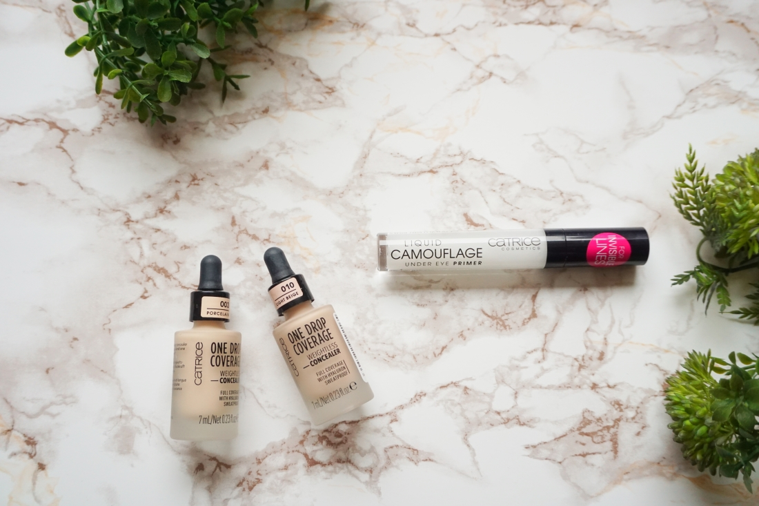 One Drop Weightless Concealer, Liquid Camouflage Under Eye Prime