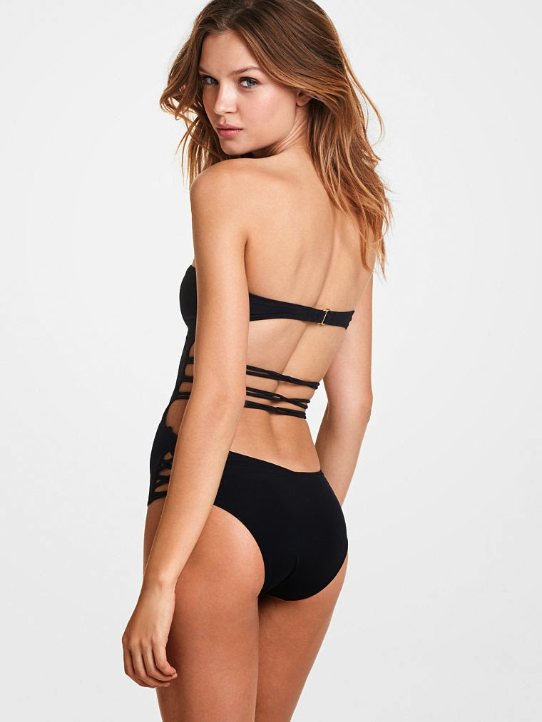 Josephine Skriver poses for the Victoria's Secret  Swim January 2015 Lookbook