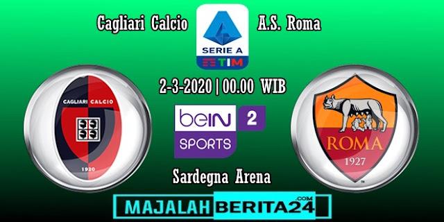 Prediksi Cagliari vs AS Roma