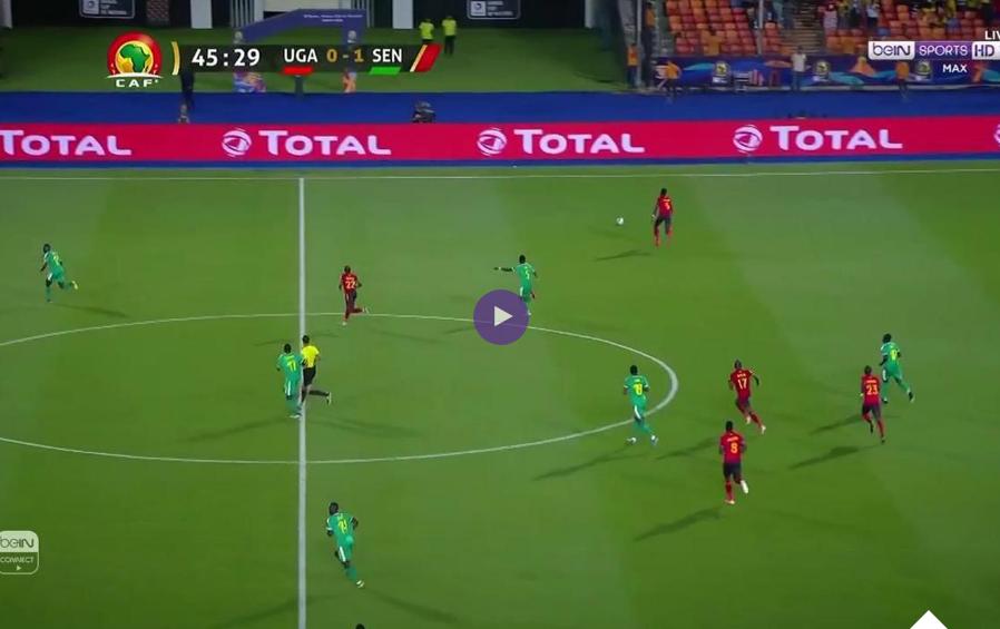 """فيديو :ماني يزيل """"الرافعات"""" أمام """"أسود التيرانغا"""" في الطريق إلى ربع نهائي كأس أمم إفريقيا 2019"""