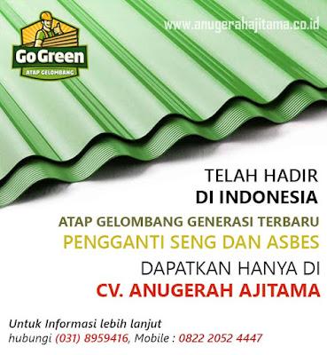 Atap Go Green Warna Hijau