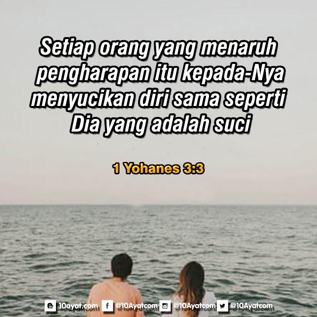 1 Yohanes 3:3