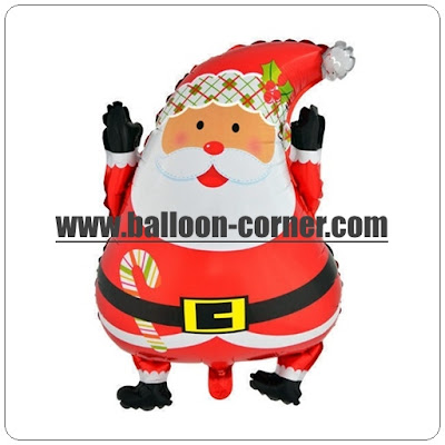 Balon Foil Santa Claus