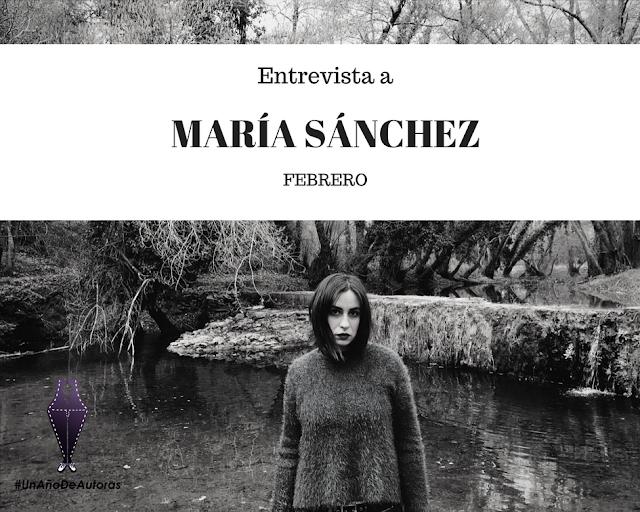 #UnAñoDeAutoras con María Sánchez