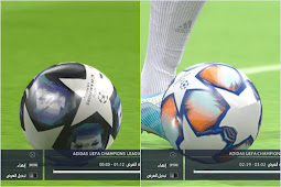 UCL Balls Leaked Season 2021 For - PES 2017