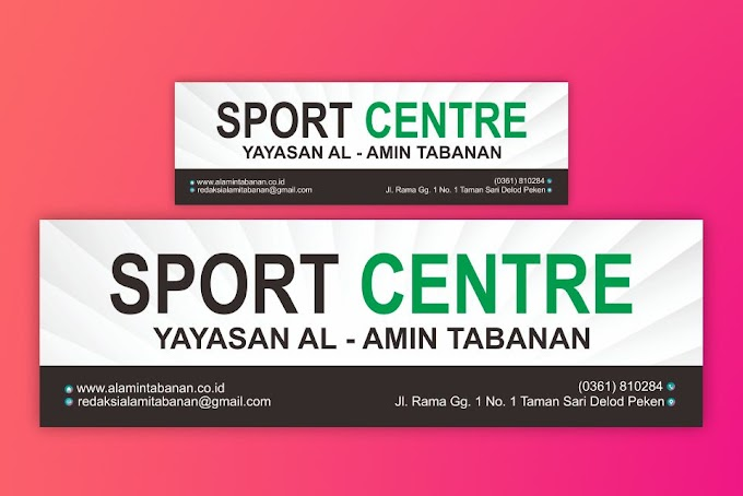 Download Desain Neon Box Spor Centre