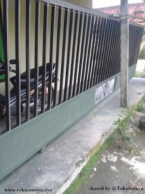 contoh teralis pagar rumah