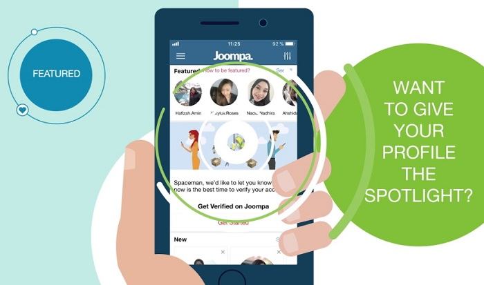 Joompa-Dating App For Muslims Hookup Love Marriage