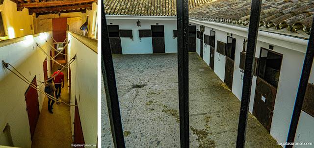 Cavalariças da Arena de Touros de Ronda, Andaluzia