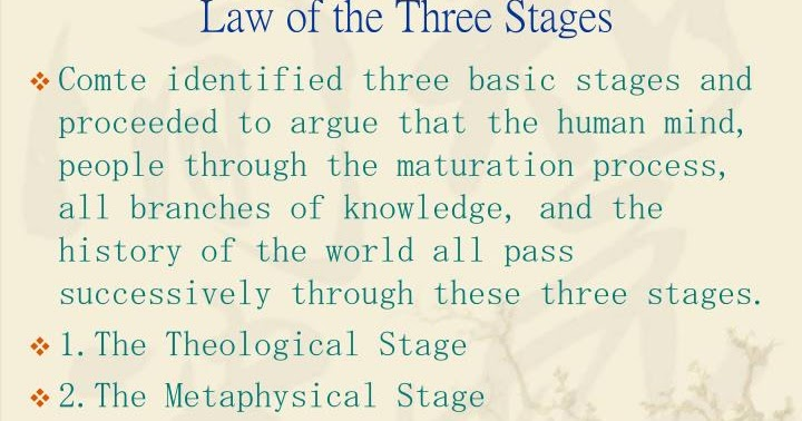 metaphysical stage