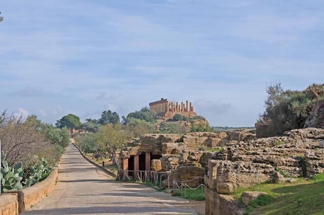 Świątynia Hery, Agrigento, Grecja we Włoszech