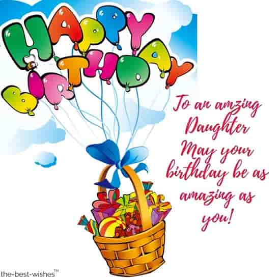 birthday message for daughter from mother