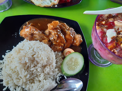 Nasi Ayam Blackpepper Menu Lunch Hari Ini