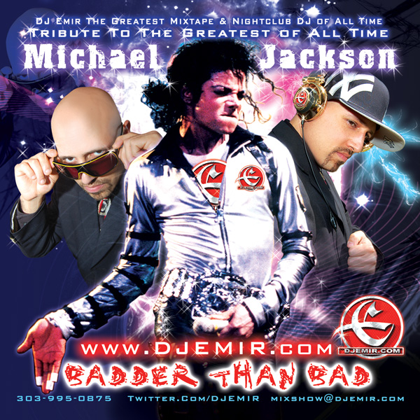 DJ Emir Michael Jackson Mixtape Cover