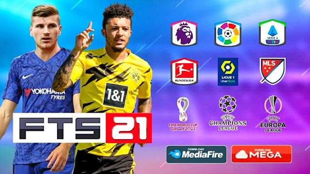 FTS 21 Android Offline 300MB Best Graphics New Update   Download FTS 2021 For Android