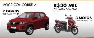 Cadastrar Promoção Mega Polo Moda - Carros, Motos e Vales-Compras