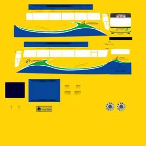 Livery Termuda Kuning Euroliner