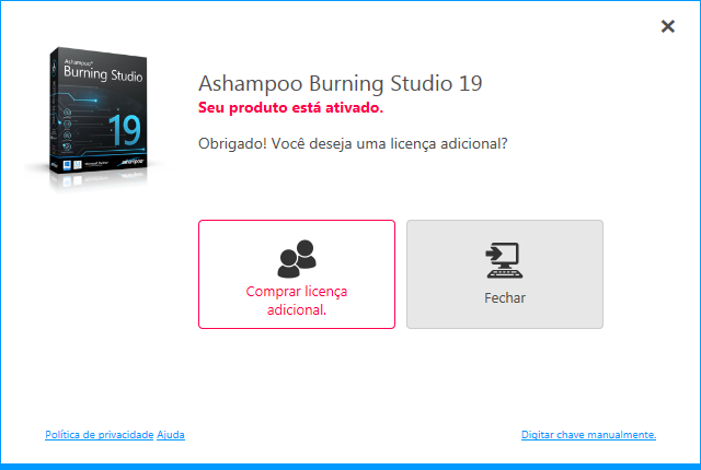 Ashampoo Burning Studio 19