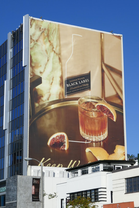 Johnnie Walker Black Label Holidays 2019 billboard