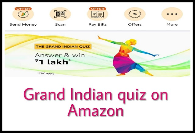 Amazon The Grand Indian Quiz on independence Day - [ 2019 ]