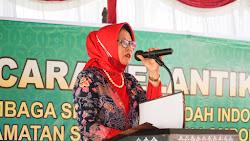 Lantik Pengurus Kecamatan, Ketua Lasqi Lombok Timur Tekankan Pembinaan