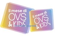 Logo Concorso '' Il Mese di OVS&KIDS'': vinci 500 buoni spesa e 1 anno di shopping
