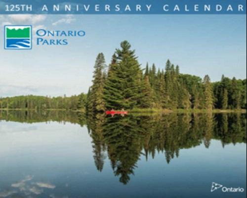 Ontario Parks Free 125th Anniversary 2018 Calendar