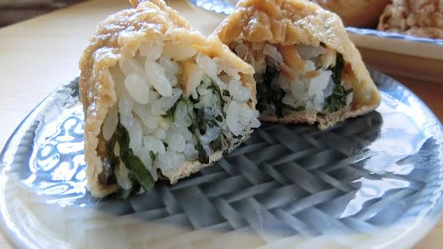 アジの干物の混ぜいなり寿司の作り方