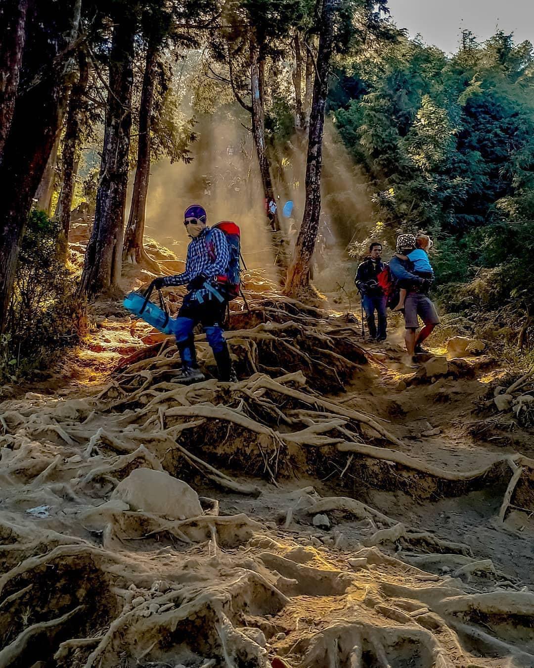 jalur pendakian prau wisata dieng
