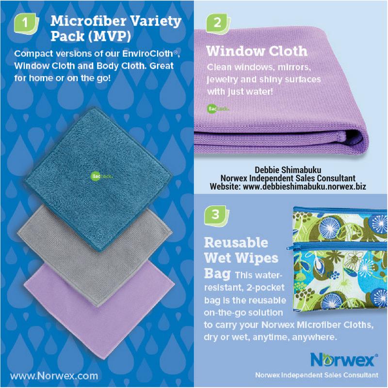 Microfiber Variety Pack