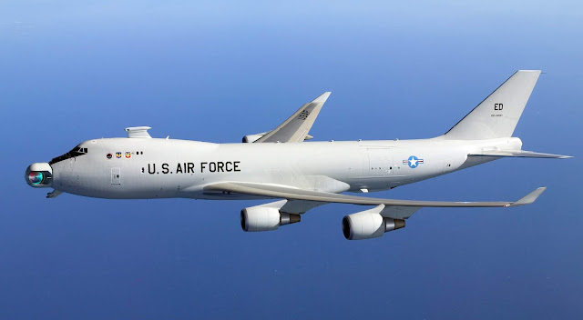 Boeing YAL-1 Active Ranger System ARS  Airborne Laser yal-1a AAS-42 IRST