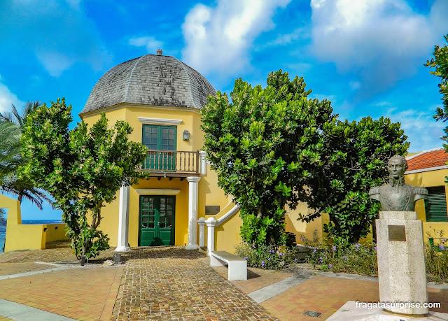 Ocatagon, casa de Simón Bolívar em Curaçao
