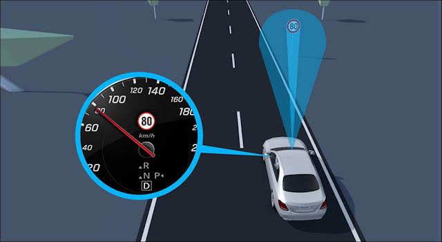 Hệ thống nhận biết biển báo giao thông (Traffic Sign Assist)