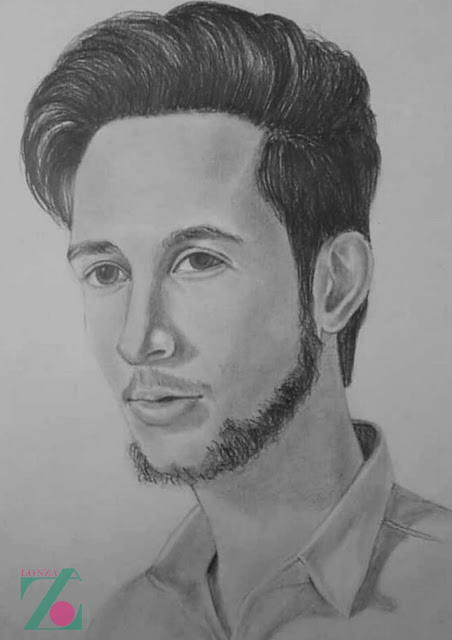 Order for Portrait,Portrait,Portrait sketch,Face Portrait,sketch,Pencil,Portrait,Online Portrait Order,Birthtday Gift,Anniversary Gift,occasion gift,special gift,valentine day gift,Lonza,Lonza Production
