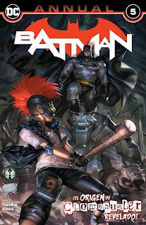 Se agrega el #105 y el Annual #05 de la serie quincenal de Batman Vol.3 de parte a la alianza entre el Rincón Geek y 9 Reinos Cómics