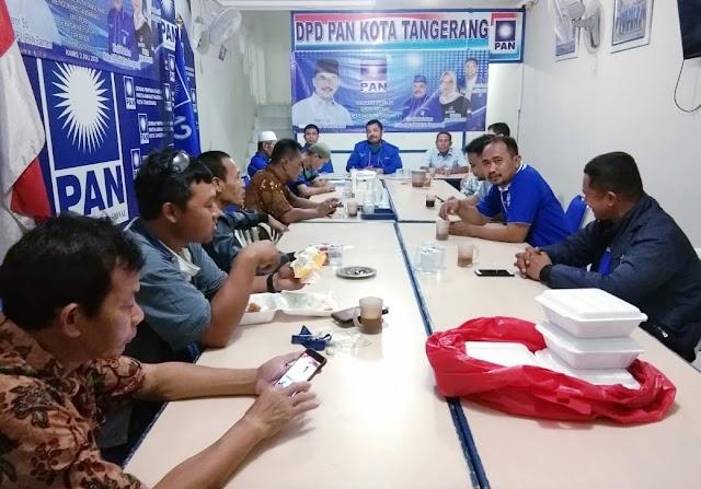Rapat Konsolidasi Jelang Muswil V DPW PAN Provinsi Banten