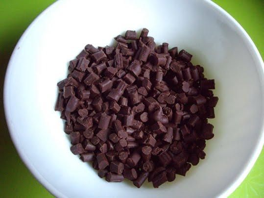 chips de chocolate caseras