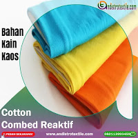 Kain Kaos Cotton Combed 24s Murah Tasikmalaya Jual Kiloan Plus Rib