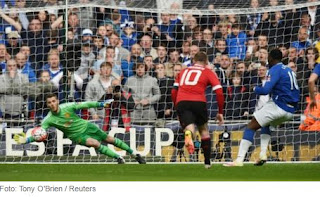David De Gea Man of The Match Everton vs MU 1-2 Semifinal FA Cup