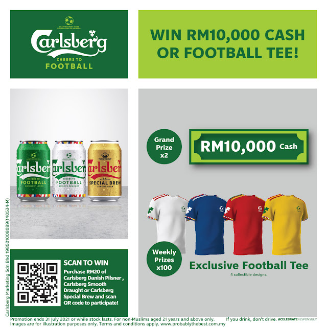 Carlsberg Launches CHEERS TO FOOTBALL Limited-Edition Packaging